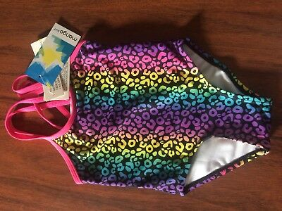 Baby Girl One Piece Swimmers Mango Surf Size 0 NWT