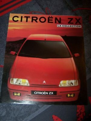 0A - Prospekt/Prospectus/Brochure/Catalogue Citroen ZX 1991
