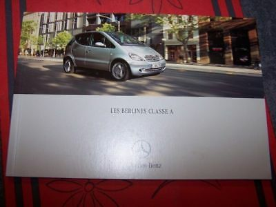 0R - Prospectus/Brochure/Catalogue Mercedes benz Classe A 2000 170 140 160 190