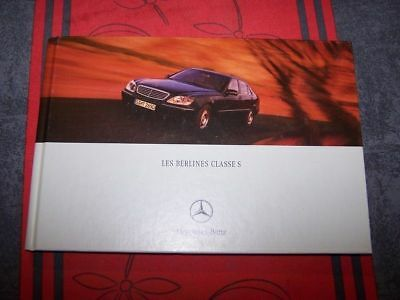 0W - Prospectus/Brochure/Catalogue Mercedes benz classe S W220 W 220 2000