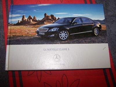 0Y Prospectus/Brochure/Catalogue classe S Mercedes benz 350 500 600 320 CDI 2005