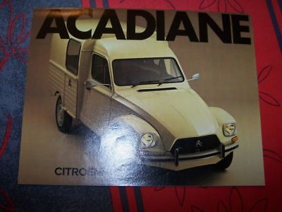 15 - Prospekt/Prospectus/Brochure/Catalogue Citroen Arcadiane 1978