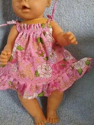 Handmade Dolls Clothes To Fit Baby Born