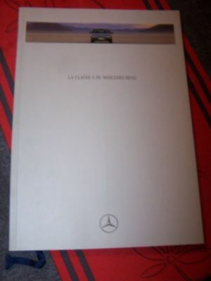 AN - Prospekt/Prospectus/Brochure/Catalogue Mercedes benz Classe S 1992