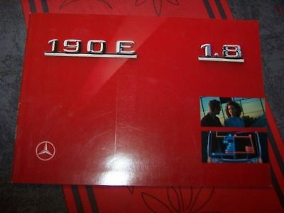AS - Prospekt/Prospectus/Brochure/Catalogue Mercedes 190E 1.8  1990