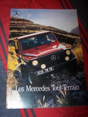 AX Prospekt/Prospectus/Brochure/Catalogue Mercedes benz 4x4 250 300 230 280 GD G