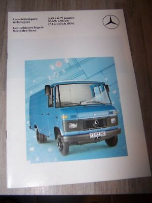 CD - Prospectus/Brochure/Catalogue Mercedes utilitaires legers 3.49 a 6.79 tonne