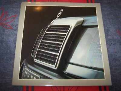 0J Prospekt/Prospectus/Brochure/Catalogue Mercedes benz 200 230 250 260 300 E D