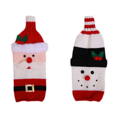Bottle Bag Decor Gifts Table decor Cover Christmas Decoration Home & Kitchen