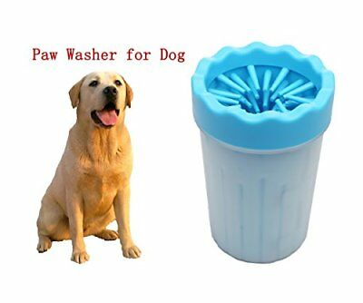 UK Portable Pet Paw Plunger Mud Cleaner Washer Mudbuster Dog Cat Pet Paw Cleaner