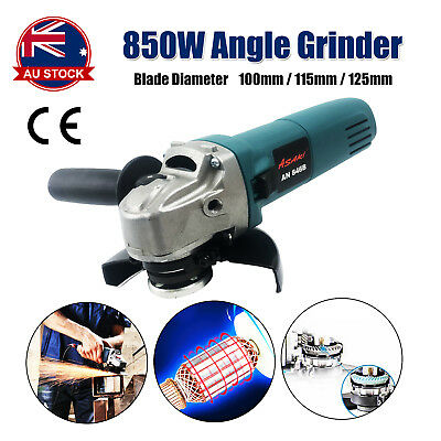"""Angle Grinder 850W 125mm (5"""") MT Series Lightweight Grinding Power Tool M"""
