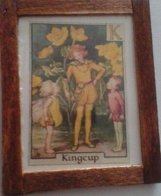 Dolls House Flower Fairy Picture (Kingcup)