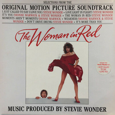 Stevie Wonder - The Woman In Red Soundtrack (Motown ‎– ZL72285) LP