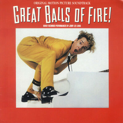 Jerry Lee Lewis - Great Balls Of Fire! Soundtrack (Polydor ‎– 839 516-1) LP