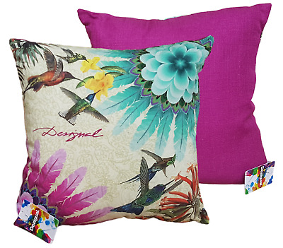 DESIGUAL. Cushion d' furniture removable,Linen and cotton 45 x 45. CIRCLE