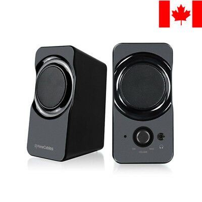 Stereo Desktop Multimedia USB Powered PC Computer Speaker Set Christmas Gift