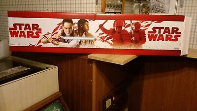 Star Wars Episode 8 The Last Jedi , Two Sided Store Display Sign