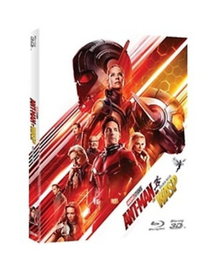 """ Ant-Man and the Wasp ""  Blu-ray (3D+2D) COMBO"