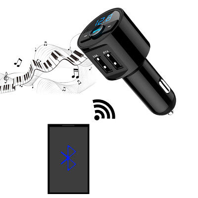Bluetooth Auto USB Charger FM Transmitter Radio Adapter MP3 Player Quick Charge