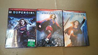Supergirl The Complete Series Season 1 2 3 (DVD 2018, 15-Disc Box Set) 123 New