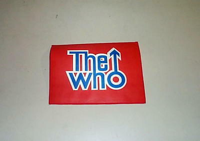 THE WHO large Vintage Patch Logo