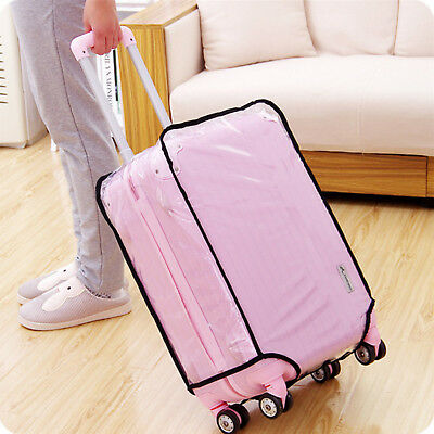 PVC Clear Travel Luggage Protector Suitcase Cover Bag Dustproof Waterproof Case