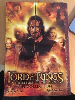 The Lord Of The Rings-Pin Collection 2001 Full Set