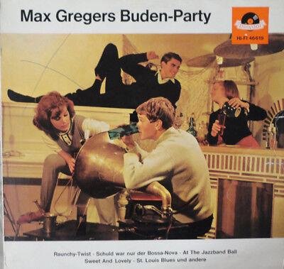 Max Gregers Buden-Party (Polydor – 46 619) LP
