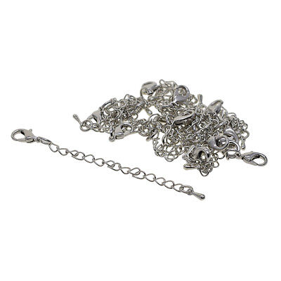 20pcs Bracelet Necklace Extender Chain with Lobster Clasp Jewelry Findings