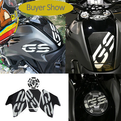 3D Real Carbon G310GS Gas Traction Tank Pad Sticker Decal for BMW G310GS