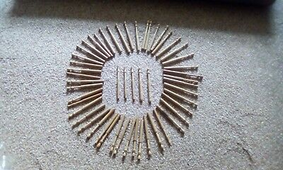 LOT OF 52 lace making bobbins good condition.