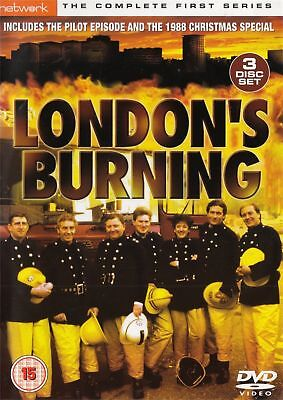 London's Burning Complete 1st Series Dvd Brand New & Factory Sealed