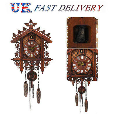 UK Art vintage decor modern clock Cuckoo wall home House Clock large