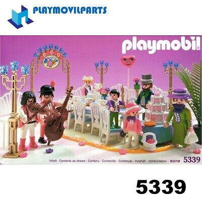 PLAYMOBIL 5339 GARDEN PARTY <>< max UK post £1.98 per INVOICE><> multi
