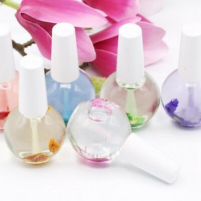Nail Cuticle Oil Flower Flavor Nail Art Nourishing Care 15ml Nail Nourishment