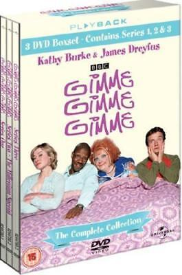 GIMME GIMME GIMME the complete series 1 2 & 3 box set. New Sealed DVD.