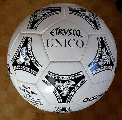 Adidas Etrusco UNICO 1990 Official World Cup Match Ball Gr.5 NEU Top!!