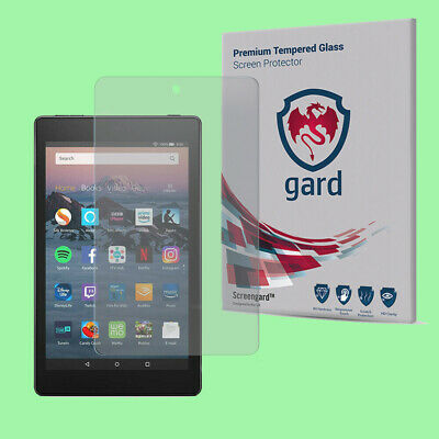 2x gard Tempered Glass Screen Protector For Amazon Kindle Fire HD 8 (2017-2018)