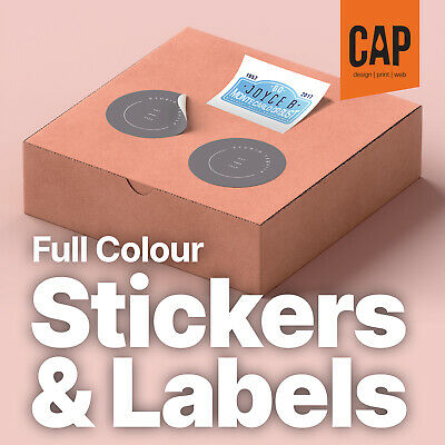Stickers, Labels, Decals Printing | Personalised Custom Promotional Messages