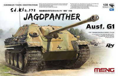 New Meng Model TS-039 1/35 Sd.Kfz.173 Jagdpanther Ausf.G1 new asease