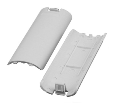 2x OFFICIAL Nintendo Wii White Battery Cover Case Back for Remote Controller K23