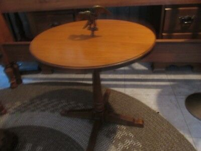"Vintage Tell City  Eagle Side Chair Table 60's Andover #48 ""rare"""