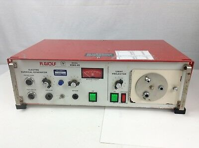 R. Wolf 2083.40 Electrosurgical Generator w/ Light Projector