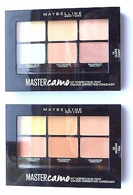 Maybelline 'MASTER CAMO KIT' Colour Correcting Concealer Palette Various x1 item