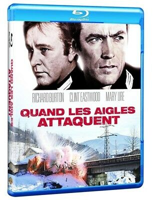 QUAND LES AIGLES ATTAQUENT  - Blu ray - Edition Française - Neuf sous blister