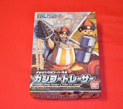 One Piece Chopper Robo Super No. 4 Kung Fu tracer Kit Bandai Anime Manga Set NEU