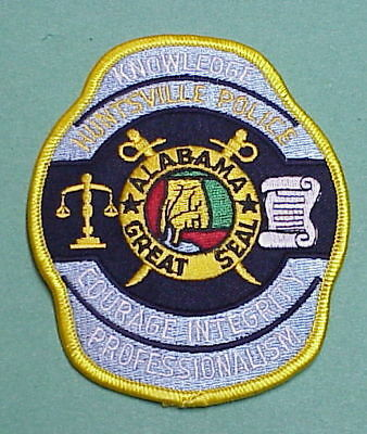 Huntsville  Alabama  Al    Police Patch   Free Shipping!!!