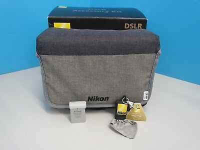 Nikon DSLR Accessory Kit With Carry Case Grey (470980)