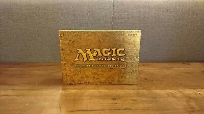 MTG Magic From The Vault: Legends Complete box set -Mint- coffret complet
