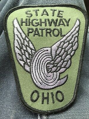 Ohio Highway Patrol State Police Swat Tactical Unit Subdued Grey Version.